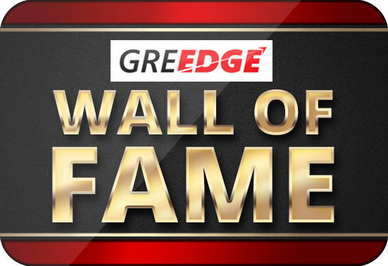 GREedge Wall of Fame