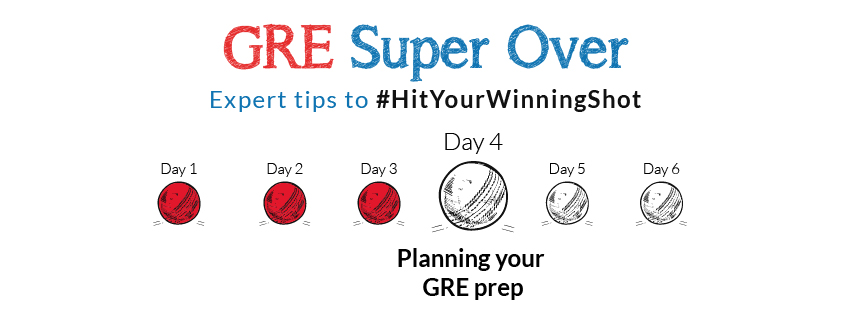gre super over the 30 day study plan for a 320