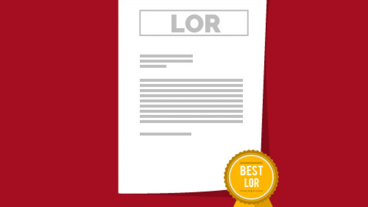 Best Letter of Recommendation(LOR) Format for MS: How Should