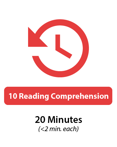 GRE Verbal Reading Comprehension